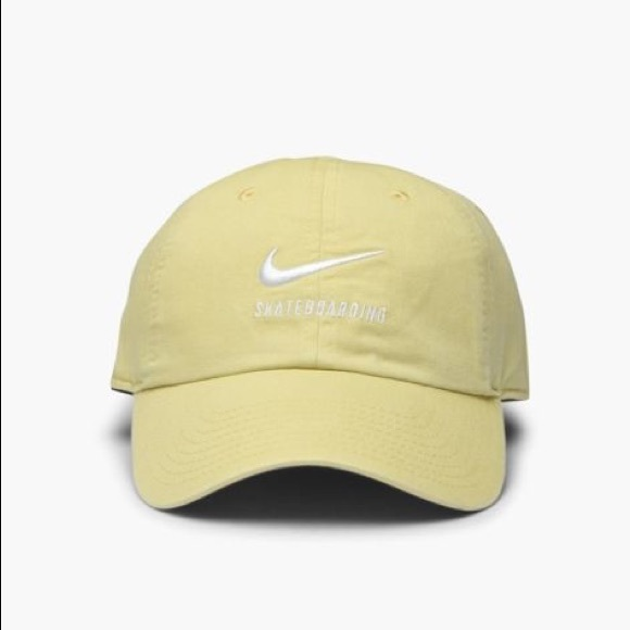 sale retailer 39be7 6f426 NIKE SB UNISEX H86 TWILL DAD HAT   LEMON WASH